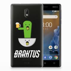 Nokia 3 Telefoonhoesje met Naam Braktus