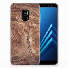 Samsung Galaxy A8 (2018) Bumper Hoesje Tree Trunk