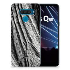 Bumper Hoesje LG Q60 Boomschors Grijs