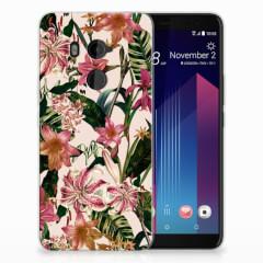 HTC U11 Plus TPU Case Flowers