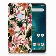 Xiaomi Mi A2 Lite TPU Case Flowers