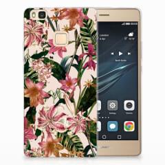 Huawei P9 Lite TPU Case Flowers