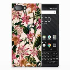 BlackBerry Key2 TPU Case Flowers