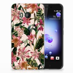 HTC U11 TPU Case Flowers