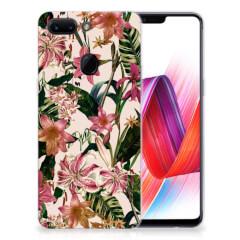 OPPO R15 Pro TPU Case Flowers