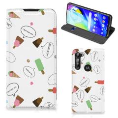 Motorola Moto G8 Power Flip Style Cover IJsjes