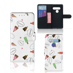 LG G8s Thinq Book Cover IJsjes