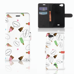 Wiko Pulp Fab 4G Book Cover IJsjes