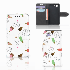 Sony Xperia Z3 Compact Book Cover IJsjes