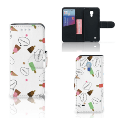 Samsung Galaxy S4 Mini i9190 Book Cover IJsjes