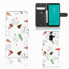 Samsung Galaxy J6 2018 Book Cover IJsjes