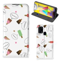 Samsung Galaxy M31 Flip Style Cover IJsjes