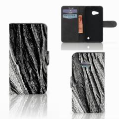 Book Style Case Microsoft Lumia 550 Boomschors Grijs
