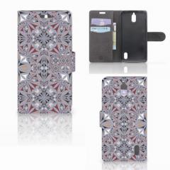 Huawei Y625 Bookcase Flower Tiles