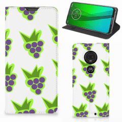 Motorola Moto G7   G7 Plus Flip Style Cover Druiven