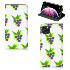 Apple iPhone 11 Pro Max Flip Style Cover Druiven