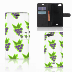 Wiko Pulp Fab 4G Book Cover Druiven