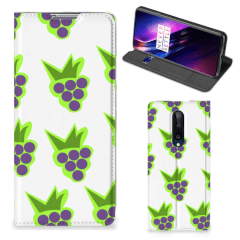 OnePlus 8 Flip Style Cover Druiven