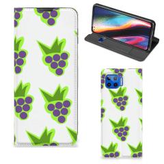 Motorola Moto G 5G Plus Flip Style Cover Druiven