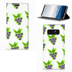 Samsung Galaxy Note 8 Flip Style Cover Druiven