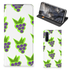 OnePlus Nord Flip Style Cover Druiven