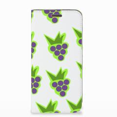 Motorola Moto E5 Play Flip Style Cover Druiven
