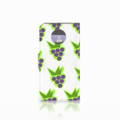 Moto G5S Book Cover Druiven