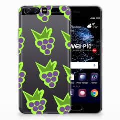 Huawei P10 Siliconen Case Druiven