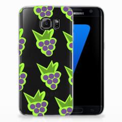 Samsung Galaxy S7 Edge Siliconen Case Druiven