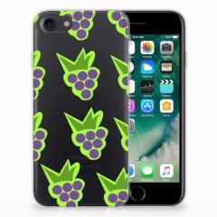 iPhone SE (2020) | 7/8 Siliconen Case Druiven