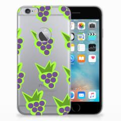 Apple iPhone 6 Plus | 6s Plus Siliconen Case Druiven