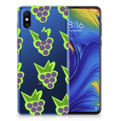 Xiaomi Mi Mix 3 Siliconen Case Druiven