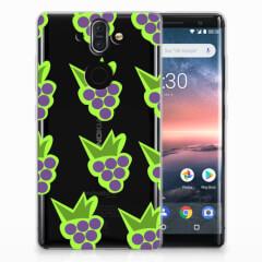 Nokia 9 | 8 Sirocco Siliconen Case Druiven
