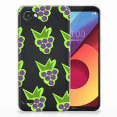 LG Q6   LG Q6 Plus Siliconen Case Druiven
