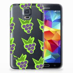 Samsung Galaxy S5 Siliconen Case Druiven