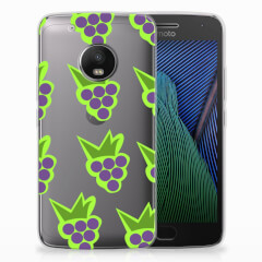 Motorola Moto G5 Plus Siliconen Case Druiven