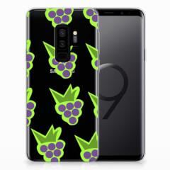 Samsung Galaxy S9 Plus Siliconen Case Druiven