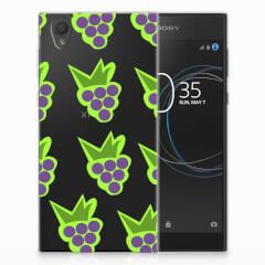 Sony Xperia L1 Siliconen Case Druiven