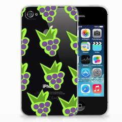 Apple iPhone 4 | 4s Siliconen Case Druiven