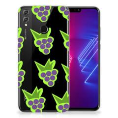 Honor 8X Siliconen Case Druiven