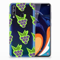 Samsung Galaxy A60 Siliconen Case Druiven
