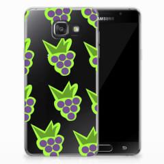 Samsung Galaxy A3 2016 Siliconen Case Druiven