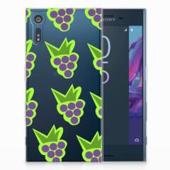 Sony Xperia XZs | XZ Siliconen Case Druiven