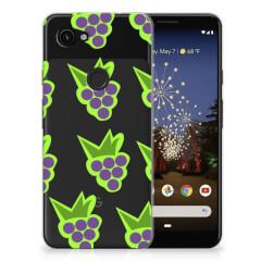 Google Pixel 3A Siliconen Case Druiven