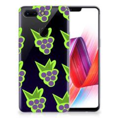 OPPO R15 Pro Siliconen Case Druiven