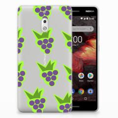 Nokia 2.1 (2018) Siliconen Case Druiven