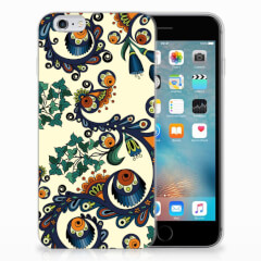 Siliconen Hoesje Apple iPhone 6 | 6s Barok Flower