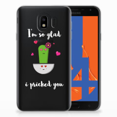 Samsung Galaxy J4 2018 Telefoonhoesje met Naam Cactus Glad