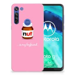 Motorola Moto G8 Siliconen Case Nut Boyfriend