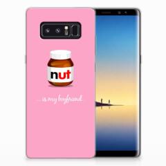 Samsung Galaxy Note 8 Siliconen Case Nut Boyfriend